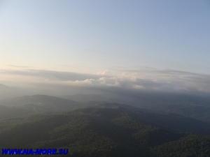 Вид с горы Ахун