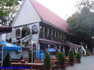 Ресторан на вершине горы Ахун